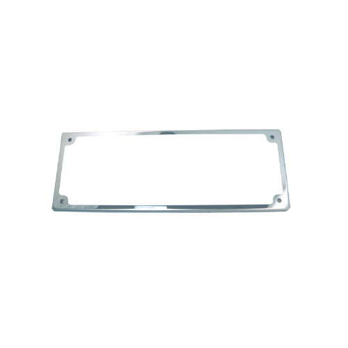 Stainless Steel Licence Frame with Acrylic Cover